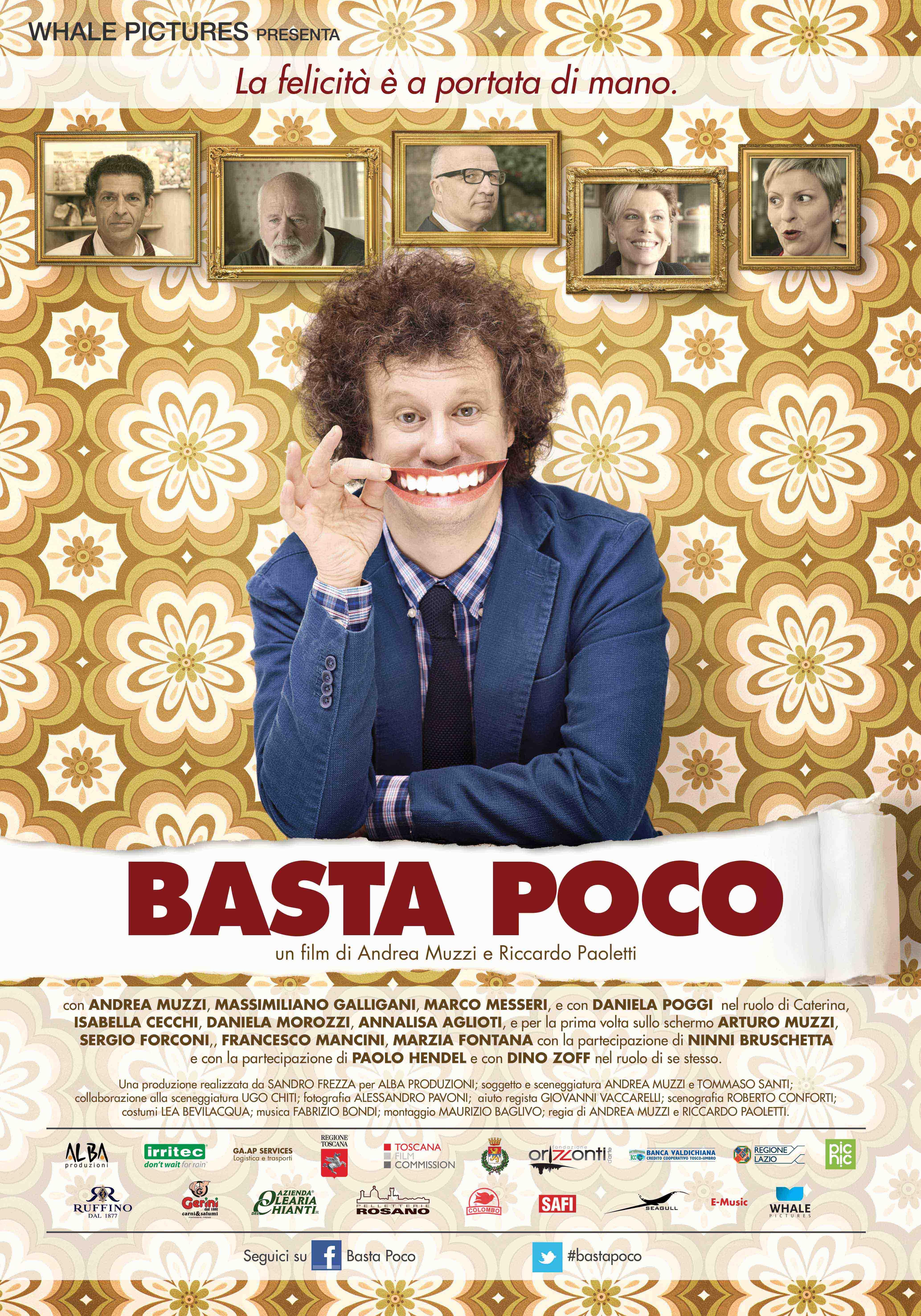 Basta Poco - 2015 La locandina del film