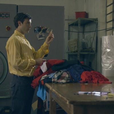 Due più due Francesco Borchi in una scena del cortometraggio