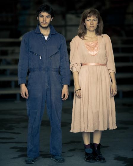 Stracci - 2008 con Valentina Banci e Francesco Borchi Magazzino Masi, Prato 2008. Foto Alessandro Moggi