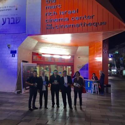 Restaurare il Cielo - Prima alla Cinemateque di Tel Aviv con Istituto Italiano di Cultura e Ambasciata Italiana